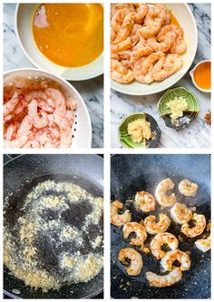 This delicious honey garlic shrimp takes less than 10 minutes to make and tastes better than in a restaurant! Honey Shrimp, Asian Shrimp, Chicken And Shrimp, Garlic Shrimp, How To Cook Mince, How To Cook Shrimp, Shrimp Recipes Easy, Asian Recipes, Speedy Recipes