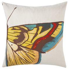 """Threshold™ Butterfly Toss Pillow (20x20"""")"""