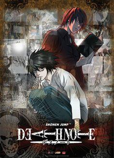 Death Note Light & L Wall Scroll  Want!!