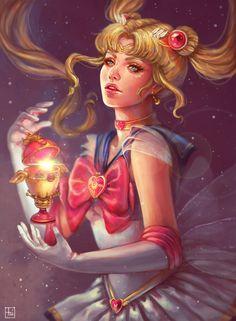Sailor Moon by serafleur.deviantart.com on @DeviantArt