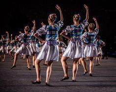 The 2014 Royal Edinburgh Tattoo dancers