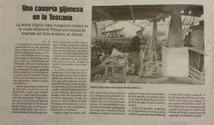 articulo publicado en La Nueva España. sabado 10.05.2014. #casantonino #virginialopez