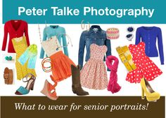 """""""Peter Talke Photography What to wear for senior portraits!"""" by petertalkephotography on Polyvore"""