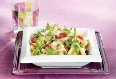 Salade tiède de tortellinis