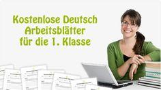 kostenlose Arbeitsblätter Deutsch 1. Klasse