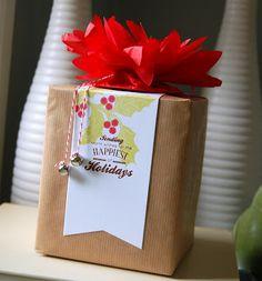 My Paper Secret: Quick Favors & Wraps  Love the bells! PTI