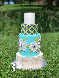 #wedding #cake  #cakedecorating #bridal