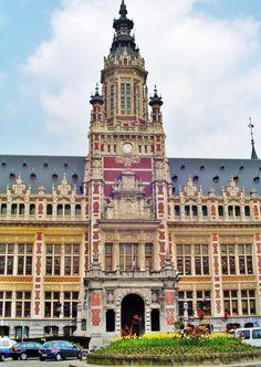 Town Hall of Schaerbeek, suburbs Brussels