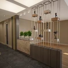 Room divider ideas to enliven your space 00027 Salon Interior Design, Design Hotel, House Design, Living Room Partition Design, Room Partition Designs, Wall Partition, Loft Stil, Divider Design, Divider Ideas