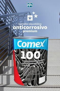Con nuestro esmalte Comex 100® le brindarás la máxima protección anticorrosiva a las superficies metálicas.Colores disponibles: 3500 del Sistema ColorLife® 2.0#ProductosComex