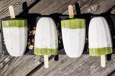 Minziges Kokosnuss Moringa Eis Ice Cream, Sweets, Desserts, Drinks, Food, Peppermint, Coconut, Ice, No Churn Ice Cream