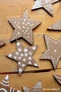 Terrific Free Beautiful math stars - STEAM lesson plans Concepts Scientists unearthed that Christmas woods and festive food can cause fevers and allergy reactions Christmas Crafts For Kids To Make, Homemade Christmas, Christmas Projects, Simple Christmas, Diy Crafts For Kids, Kids Christmas, Holiday Crafts, Christmas Pictures, Christmas Decorations