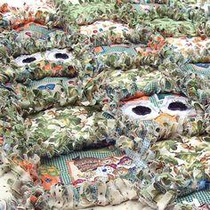 Fall Owls Rag Quilt
