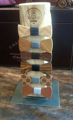 Choices of Bow tie Designes wooden