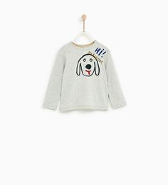 Image 1 of from Zara Fashion Kids, Forest Camp, Zara, Baby Outfits, Graphic Sweatshirt, T Shirt, Baby Wearing, 4 Years, Kids Wear