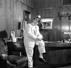 Not originally published in LIFE. Mickey Cohen, 1949.