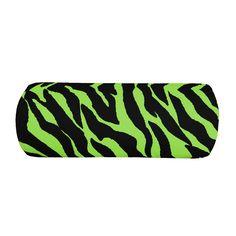 Kimlor Zebra Lime Bolster Pillow   Bed Planet   Bedplanet.com