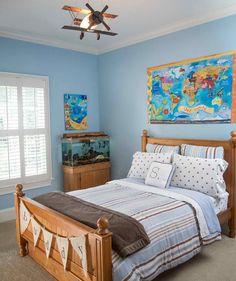Cool DIY Boy's Bedroom Design Idea