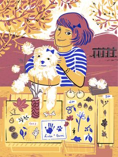 "Me & Camilla, illustration for the illustrated Book ""Every Child Is My Child"" Adriano Salani Publisher"