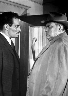 Charlton Heston & Orson Welles