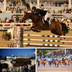 The Devon Horse Show, returning May 24-June 3, 2012, outside of Philadelphia.