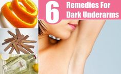 6 Simple Home Remedies For Dark Underarms - How To Get Rid Of Dark Underarms | Herbal Supplements