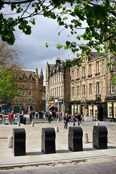 The Grassmarket, Edinburgh, Scotland - UK