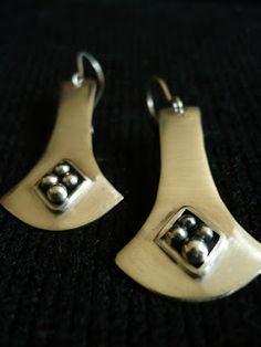 killari: ARETES DE PLATA Decorative Bells, Metal Working, Drop Earrings, India, Jewellery, Accessories, Fashion, Ear Rings, Shopping