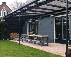 Glass Covered Patio Design