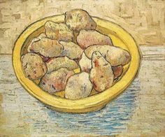 Van Gogh, Still Life with Potatoes in a Yellow Dish