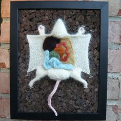 Knitted Dead Rat Dissection. Wonder if my mother will make me one.... :D