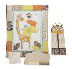 Baby Giraffe Crib Bedding