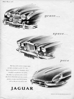 Jaguar hardly needs advertising to make you want one, but they still create beautiful adverts giving everyone the chance to admire their cars.