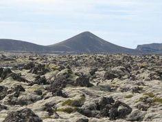 Lavafelder bei Keflavik; Island