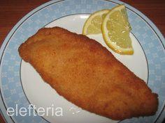 Γεύση Ελευθερίας: Κοτόπουλο σνίτσελ