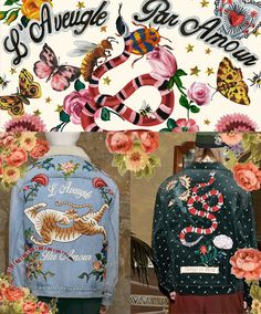 An exceptional seed was planted when Alessandro Michele took the helm at Gucci just about a year and a half ago. The seed sprouted into a menagerie of unparalleled beauty and vibrant romance and honestly, we've fallen so deep into Gucci's Garden, we may never want to find a way out. Butterflies,