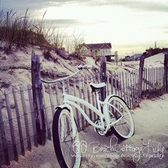 Beach Bicycle | René Marie Photography | Beach Cottage Life | https://www.facebook.com/BeachCottageLifePhotography
