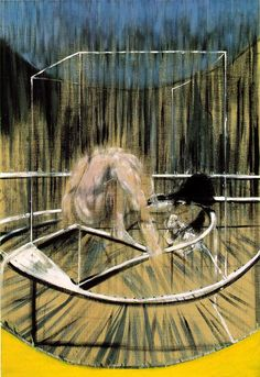 Study for Crouching Nude (1952), Francis Bacon
