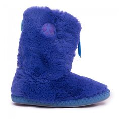 Buy Monroe TPR Ladies Classic Faux Fur Iceberg / Volute Slipper Boots at Bedroom Athletics - Quality designer slippers for women in a range of colours & sizes. Slipper Boots, Womens Slippers, Faux Fur, Colours, Classic, Stuff To Buy, Fashion, Derby, Moda