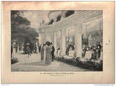 "Der Pré Catelan "" im Bois de Boulogne zu Paris   - Druck, entnommen   aus ""die…"