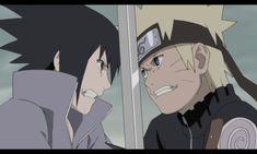 Sasuke vs Naruto in Tsunade's dream.