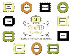 8x10 stacked picture frame  Twitterpated in by ShapedExpressions, $58.00