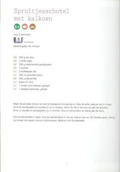 Weight Watchers - Spruitjesschotel met kalkoen