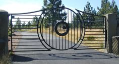 family owned and operated, iron gates, operators and fences, in Spokane, WA. Most iron gate styles are available.