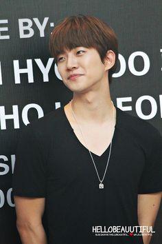 Cute smile - Junho (cr. as tagged)