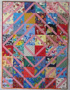 Lattice quilt -Tutorial under charity quilts