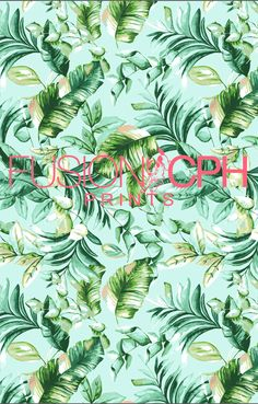 Tropical print.. from Fusion CPH print design studio from Copenhagen. We design all kind of prints for fashion and interior textiles. See some of our unique prints at Instagram: fusioncph or at www.fusioncph.com Mixed Prints, Color Stories, Copenhagen, Cosmic, Denmark, Print Design, Tropical, Textiles, Studio