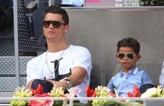 Cristiano and his son #Swagg