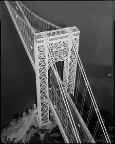 Axonometric of George Washington Bridge