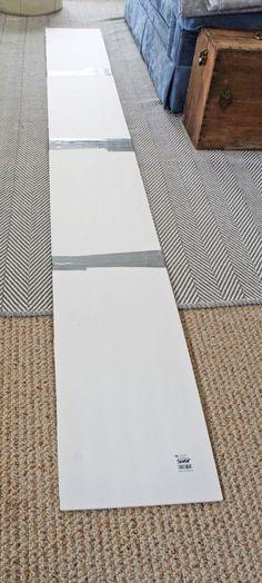 How to Make a Foam Board Cornice | www.rappsodyinrooms.com